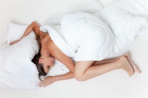 Posiciones para poder dormir mejor